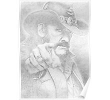 Lemmy from Motorhead Poster