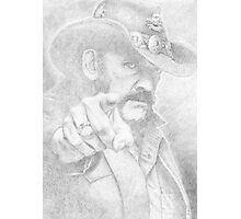 Lemmy from Motorhead Photographic Print