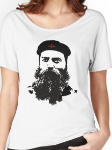 Ned Kelly Meets Che - any colour shirt Women's Relaxed Fit T-Shirt