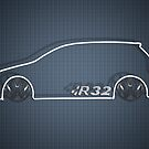 VW R32 MkV by Benjamin Whealing