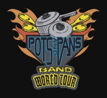 POTS & PANS BAND One Piece - Short Sleeve