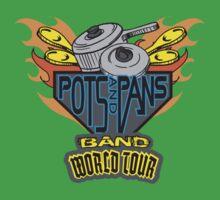 POTS & PANS BAND Kids Tee