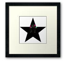 """I'm a Blackstar. I'm a Blackstar."" Framed Print"