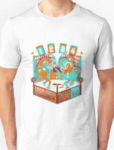 1234 LETS HAVE A THUMB WAR Unisex T-Shirt