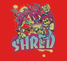 BORN TO SHRED Kids Clothes