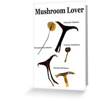MUSHROOM LOVER 2 KIDS! Greeting Card