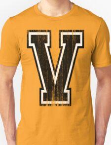 Big Varsity Letter V Unisex T-Shirt