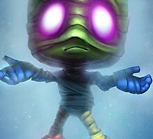 Sad Amumu League of Legends by gleviosa
