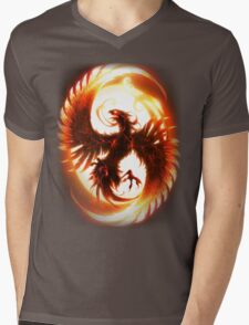 Phoenix Alternative Mens V-Neck T-Shirt
