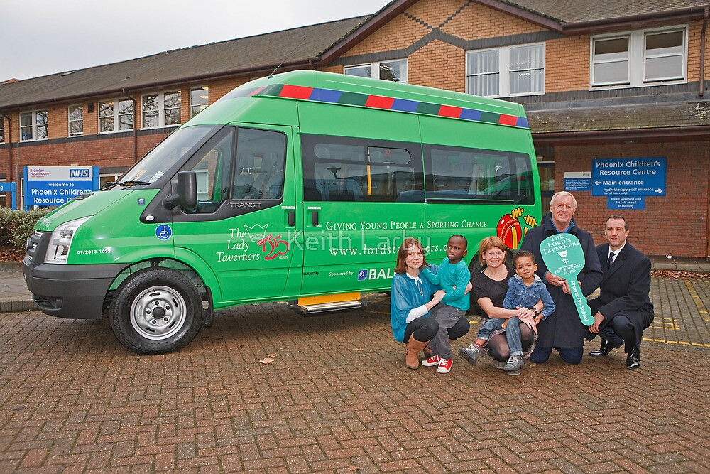 Chris Tarrant visiting the Phoenix Pre-School in Bromley Kent by Keith Larby