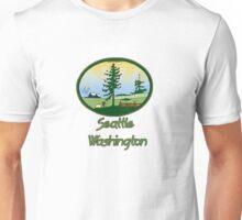 Seattle Washington truck stop novelty tee Unisex T-Shirt