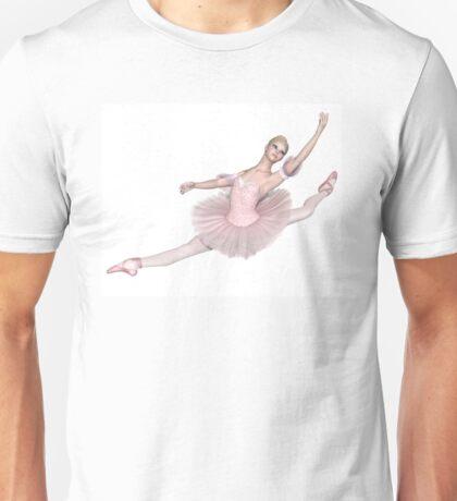 Ballerina in Pink Tutu - Grand Jeté Unisex T-Shirt