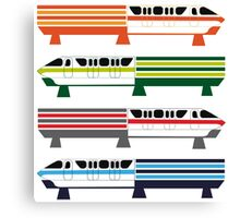 The Monorail System Canvas Print