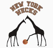 New York Necks (giraffe pattern for light-colored shirts) Kids Clothes
