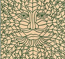 Green Man - 2 by MrsTreefrog