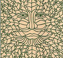 Green Man - 2 by MrsTreefrog