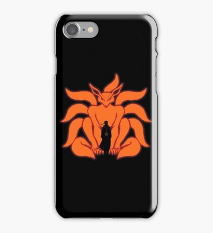 Kurama Chakra Mode iPhone Case/Skin