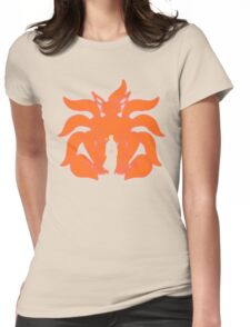 Kurama Chakra Mode Womens Fitted T-Shirt