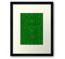 Green Man - 5 Framed Print