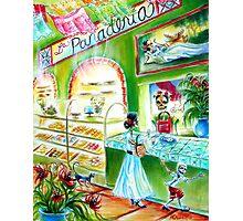 Day of the Dead La Panadería Photographic Print