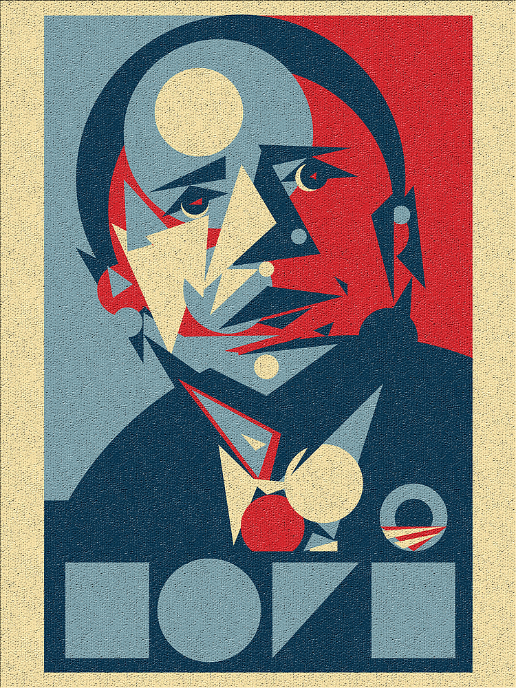 Obama Abstract Hope by mikelovdal