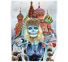 Day of the Dead Mi Vodka Poster