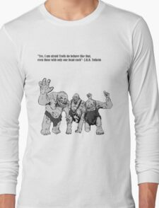 Tolkien Trolls Long Sleeve T-Shirt