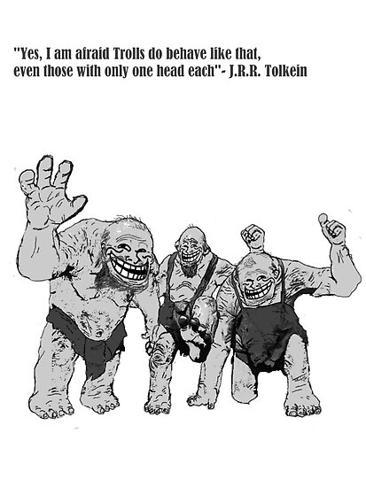 Tolkien Trolls by macliam