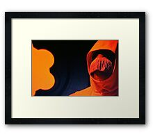 Red Death Framed Print