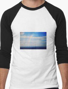 Paint Me The Rainbows Men's Baseball ¾ T-Shirt