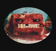 Angry Super Meat Boy by Franker