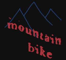 mountain bike by Gale Distler