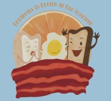 Breakfast Is Better In Bed Together T-Shirt