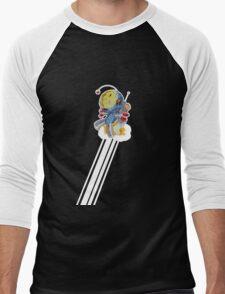 Rocket Bot Men's Baseball ¾ T-Shirt