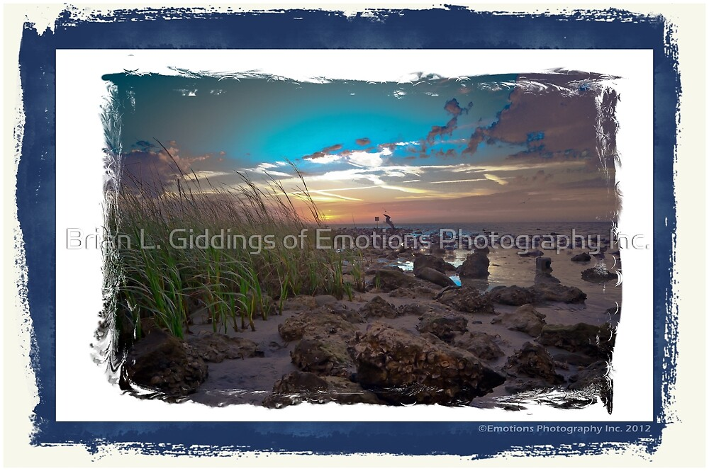 Serenity at Sun Set by Brian L. Giddings of Emotions Photography Inc.