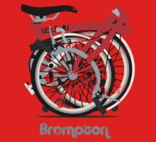 Brompton Bicycle Folded Kids Clothes