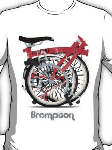 Brompton Bicycle Folded T-Shirt