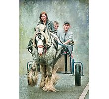 A Gipsy Grey at Appleby Photographic Print
