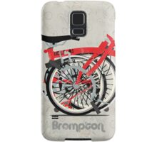 Brompton Bicycle Folded Samsung Galaxy Case/Skin