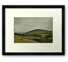 When Evening In The Shire Was Grey Framed Print
