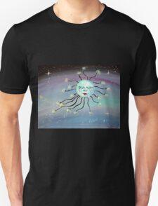 Sleeping Moon - Whimsical Art by Valentina Miletic Unisex T-Shirt