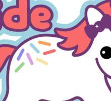 Unicorn Ride Sticker