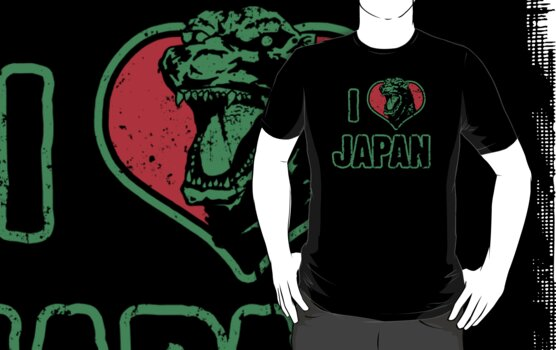 I Heart Japan by Baznet