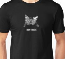 Grumpy Cat Does Not Care Unisex T-Shirt