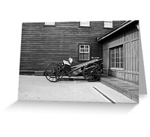 carriage Greeting Card