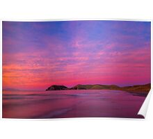 Port Jackson sunset II Poster