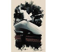 Heavenly sufi  Whirling dervish Photographic Print