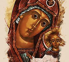 Heavenly Mother and baby by Adam Asar