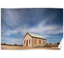 Church, Silverton, Outback NSW Poster