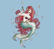 Mucha-esque Mermaid by Beth Aucoin
